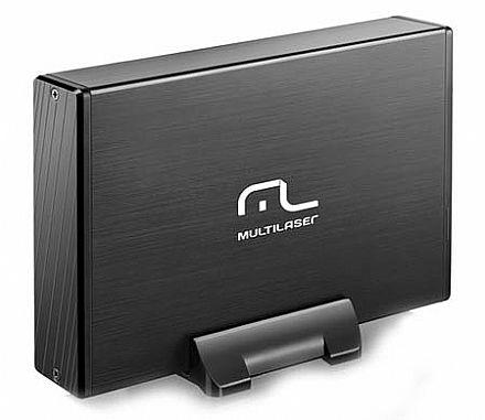 "Case para HD 3.5"" Multilaser GA119 - USB 2.0 - com cooler"