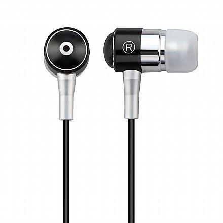 Fone de Ouvido Multilaser PH059 - Conector 3.5mm - com Microfone