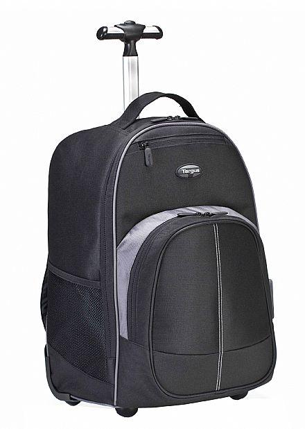 """Mochila Targus Rolling Backpack TSB750US - com rodinhas - para Notebook até 16"""""""