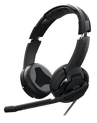 Headset Roccat Kulo Surround - Virtual 7.1 - Controle de Volume - Conector P2 3.5mm - com Adaptador USB - ROC-14-702