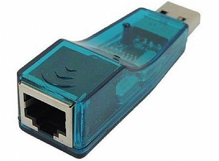 Adaptador USB para RJ45 - 100Mbps - AD0004
