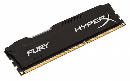 Memória 8GB DDR3 1866MHz Kingston HyperX Fury - Preto - HX318C10FB/8