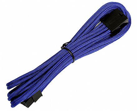 Cabo Extensor 8 pinos - para Alimentação de Placa Mãe de 8 Pinos - 45cm - Azul - AeroCool EN54836