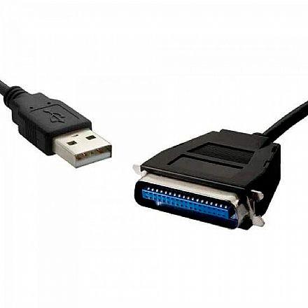 Cabo Conversor USB para Paralelo - 80 cm - AD0011