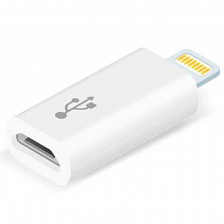 Conversor Lightning para Micro USB - Para iPhone, iPad e iPod - Comtac 9282