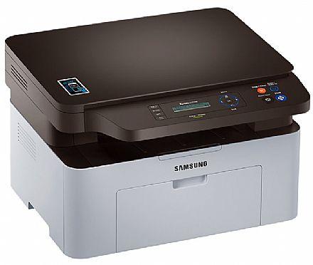 Multifuncional Laser Samsung SL-M2070W - USB, Wi-Fi, NFC - Impressora, Copiadora, Scanner - Seminovo