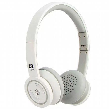 Fone de Ouvido Bluetooth C3 Tech H-W955B WH - Branco