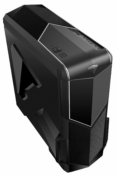 Gabinete K-mex CG-G4I0 - USB 3.0 - Janela Lateral em Acrílico