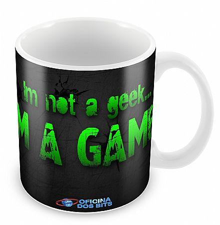 Caneca de porcelana - I`m a Gamer