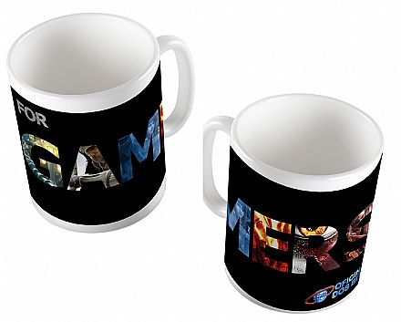 Caneca de porcelana - For Gamer