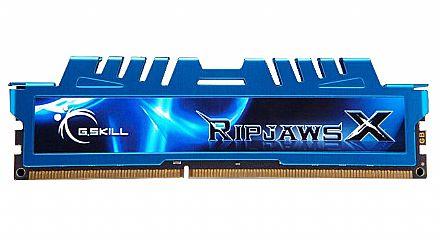 Memória 8GB DDR3 1600Mhz G.Skill - Latência CL9 - F3-1600C9S-8GXM
