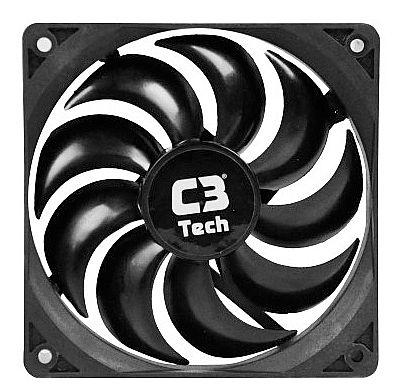 Cooler 120x120mm C3 Tech Storm - F9-100BK