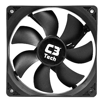 Cooler 120x120mm C3 Tech Storm - F7-100BK