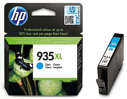 Cartucho HP 935XL Ciano - C2P24AL - Para HP Officejet Pro 6830 / HP Officejet Pro 6230