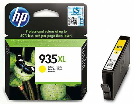 Cartucho HP 935 XL Amarelo - C2P26AL - Para HP Officejet Pro 6830 / HP Officejet Pro 6230