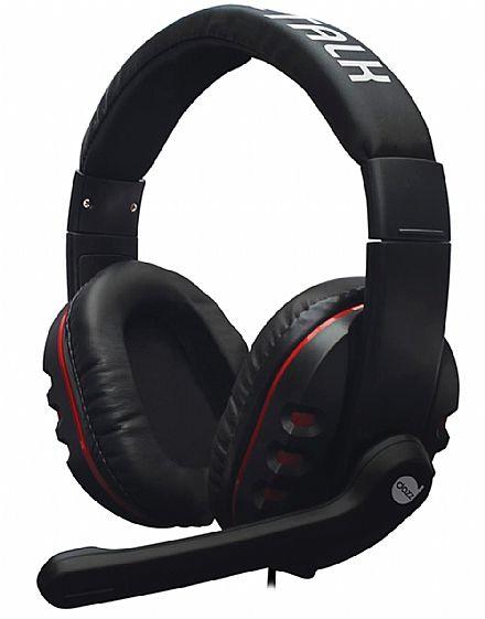 Headset Gamer Dazz X-Talk - com Controle de Volume e Microfone - Conector 3.5mm - 621538