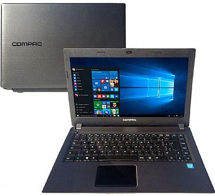 "Notebook HP Compaq Presario CQ23 - Tela 14"" HD, Intel Celeron Dual Core N2820, 2GB, HD 500GB, Windows 10"