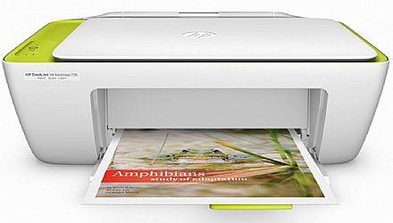 Multifuncional HP DeskJet Ink Advantage 2136 - USB - Impressora, Copiadora e Scanner - F5S30A