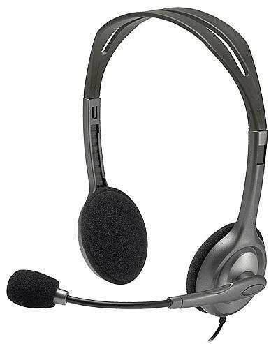 Headset Logitech H111 - com Redução de Ruídos - Conector P3 3.5mm - 981-000612