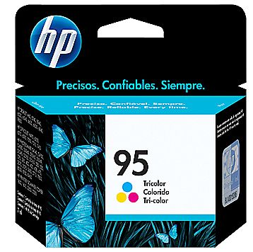 Cartucho HP 95 Colorido - C8766WB - Para HP PhotoSmart C4140 / C4150 / C4180 / Officejet 7410 / 6310 / Deskjet 9800