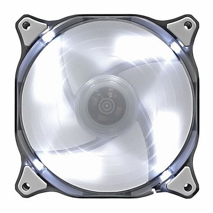 Cooler 120x120mm Cougar CFD 120 - LED Branco - CF-D12HB-W