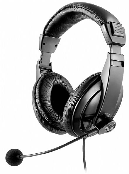 Headset Multilaser Giant - Conector P2 - PH049