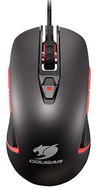 Mouse Gamer Cougar 400M Iron - 4000 dpi - 8 botões programáveis - 1ms - Cinza
