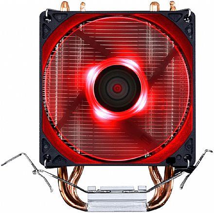 Cooler PCYes Zero K Z2 (AMD / Intel) - LED Vermelho - ACZK292LDV