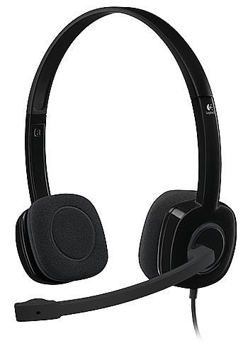Headset Logitech H151 - com Controle de Volume - Conector 3.5mm - 981-000587