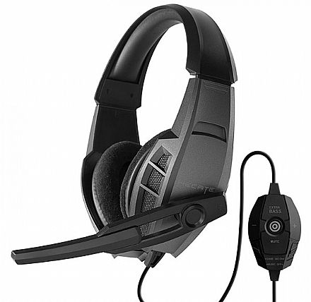 Headset Gamer Edifier G3 - com controle de Volume e Microfone - USB