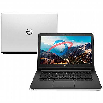 "Notebook Dell Inspiron I14-5458-D40 - Tela 14"", Intel i5, 16GB, HD 1TB, DVD, Video GeForce 920M 2GB, Linux - Branco"