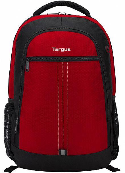 """Mochila Targus Sport City Red - TSB89003 - para notebooks de até 15.6"""""""