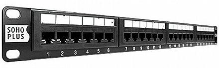 Patch Panel 24 Portas Cat 5e - Furukawa Soho Plus 35050401