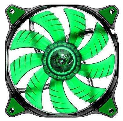 Cooler 140x140mm Cougar Dual-X - Hydraulic-Bearing - LED Verde - CF-D14HB-G