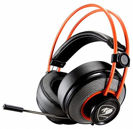 Headset Cougar Immersa Gaming - Conector 3.5mm - CGR-P40NB-300