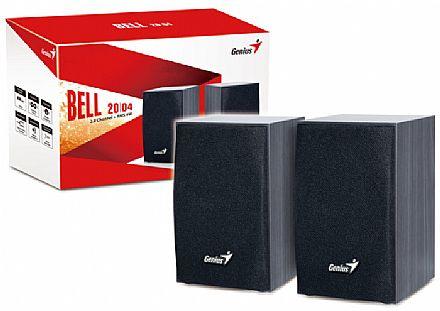 Caixa de Som 2.0 Genius SP-HF160 - 4W RMS - Preto - 31731063100