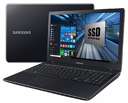 "Notebook Samsung Essentials E34 - Tela 15.6"" Full HD, Intel Core i3 6006U, 4GB DDR4, SSD 256GB, Intel HD Graphics 520, Windows 10 - NP300E5L-KF1BR"