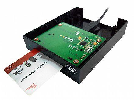 """Leitor de Cartão SmartCard - para e-CNPJ e e-CPF - Interno 2,5"""" - ACS ACR38F-A2"""