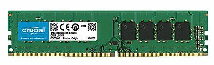 Memória 16GB DDR4 2400MHz Crucial - 1.2V - CL19 - CT16G4DFD8266