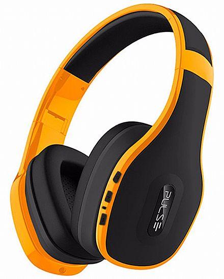 Fone de Ouvido Bluetooth Pulse Multilaser PH151 - com Microfone - Amarelo