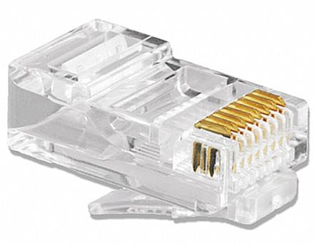 Plug Conector RJ45 Macho Cat 6 - Furukawa Soho Plus
