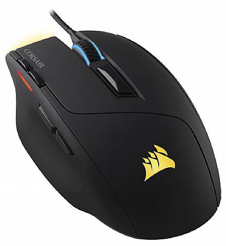 Mouse Gamer Corsair Sabre - 10.000dpi - 8 Botões - LED RGB - CH-9303011-NA