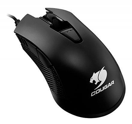 Mouse Gamer Cougar 500M - 4000dpi - 6 botões programáveis - Sensor ADNS-3090 - CGR-WOMB-500