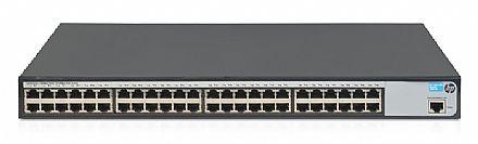 Switch 48 portas HPE Aruba 1620-48G - Gerenciável - 48 portas Gigabit - JG914A