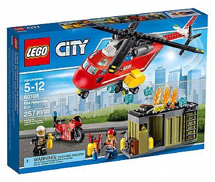 LEGO City - Corpo de Intervenção dos Bombeiros - 60108