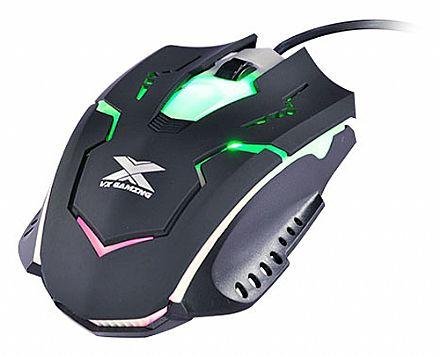 Mouse Vinik VX Dragonfly - USB - 1000dpi - Preto - 25364