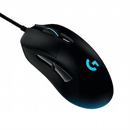 Mouse Gamer Logitech G403 Prodigy - 12000dpi - 6 Botões - Peso Ajustável - 910-004823