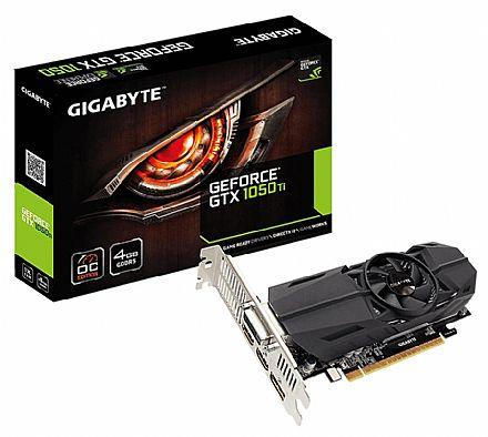 GeForce GTX 1050 Ti 4GB GDDR5 128bits - Overclock Edition - Gigabyte GV-N105TOC-4GL