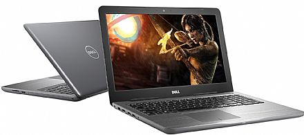 "Notebook Dell Inspiron I15-5567-D40C - Tela 15.6"", Intel i7 7500U, 8GB, SSD 240GB, DVD, Video Radeon R7 M445 4GB, Linux"