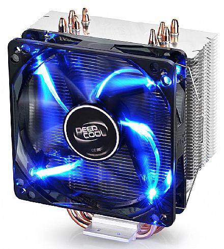Cooler DeepCool Gammaxx 400 (AMD / Intel) - LED Azul - DP-MCH4-GMX400